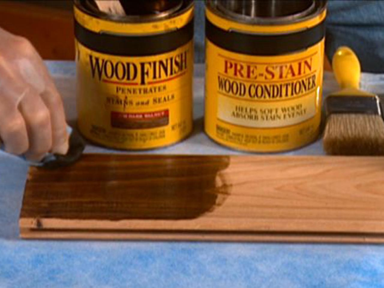 Tips On Staining Wood