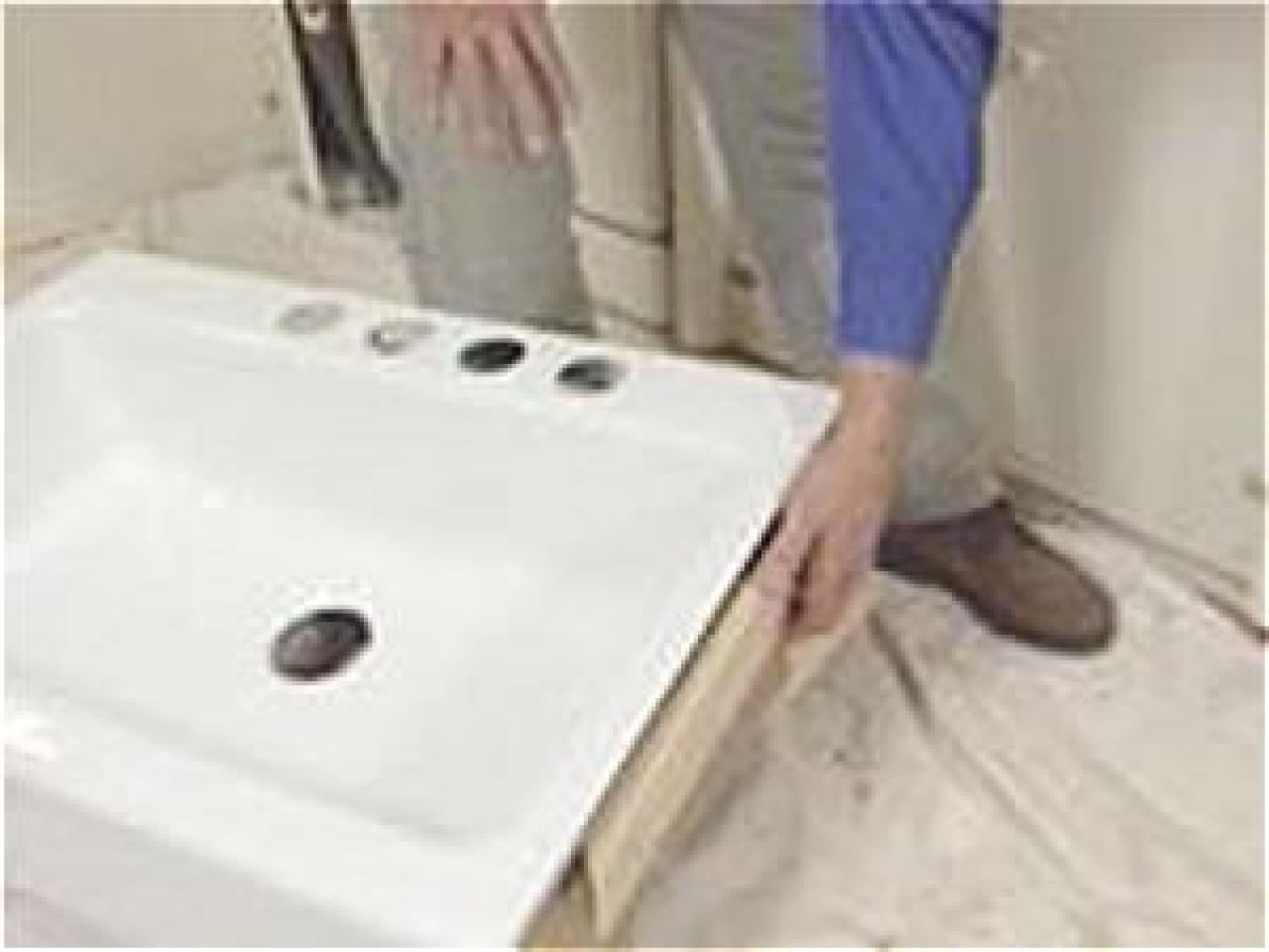 diy kitchen sink installation install an apron front sink in a butcher block countertop 6861