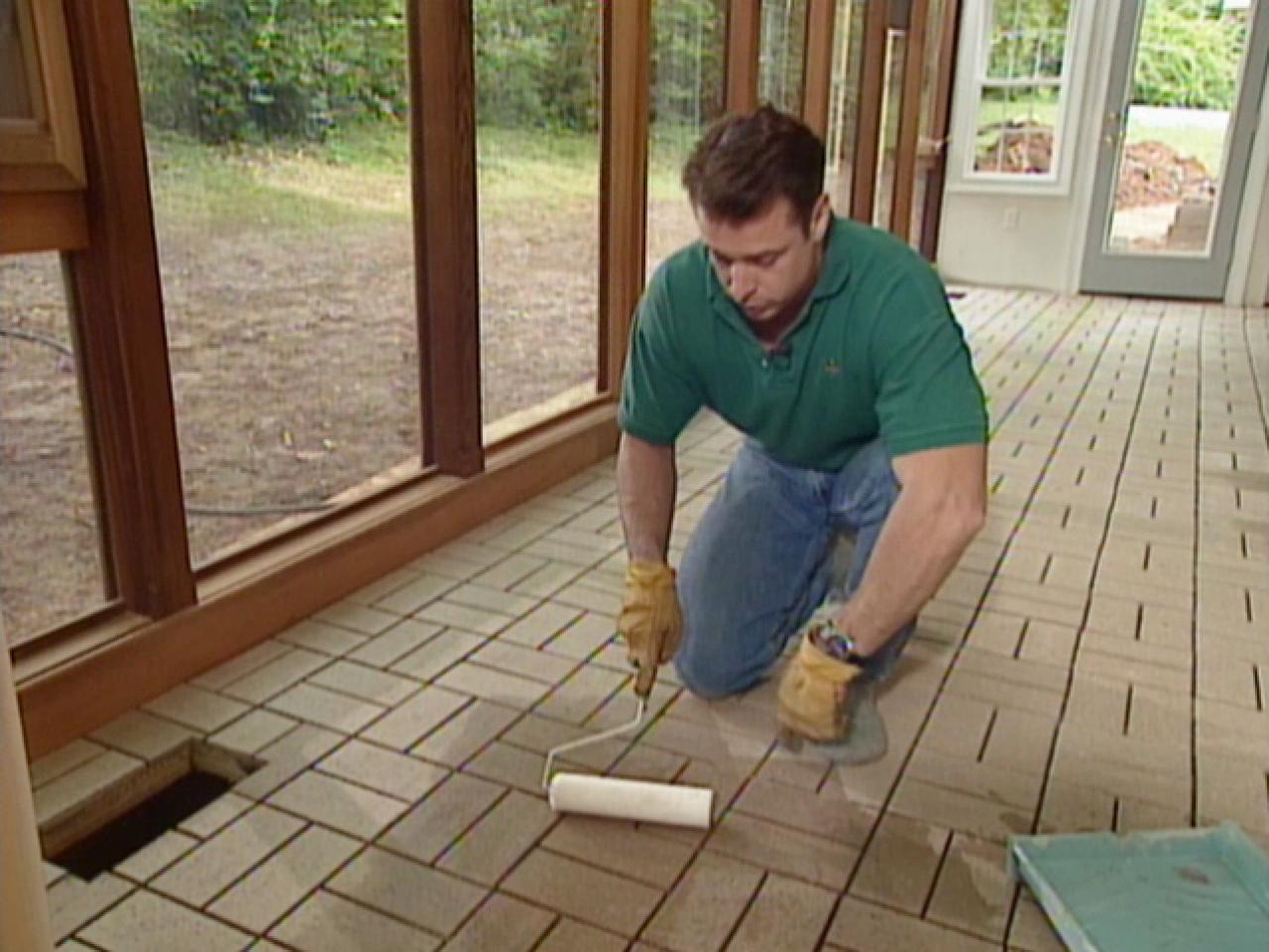 Brick Sealer Will Protect Floor From Moisture