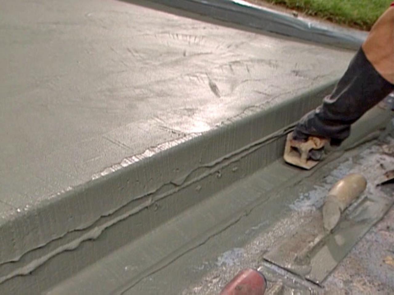 How to patch and resurface concrete steps how tos diy for What can i do to my concrete floor