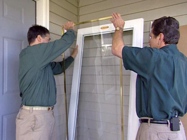 removing glass panel will make installation safer