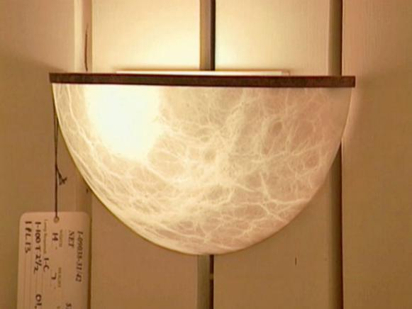 quarter sphere wall lamp is ambient lighting