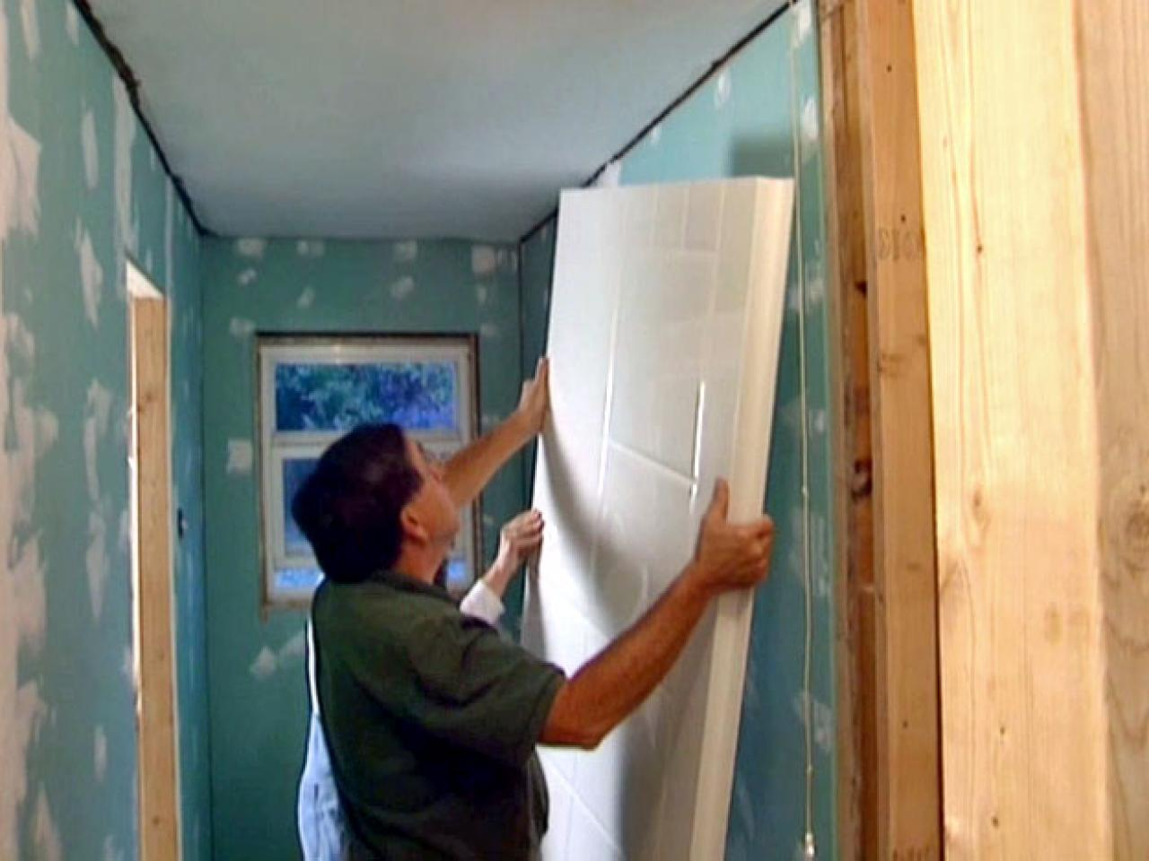 How to Install a Corner Shower | how-tos | DIY