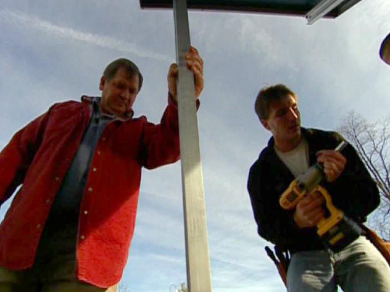 How to Install an Exterior Solar Panel | how-tos | DIY
