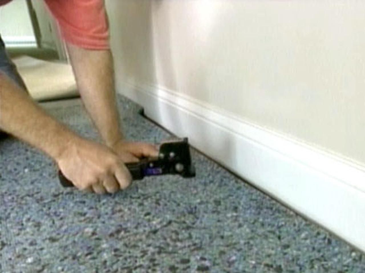 Carpet Pad Is Perpendicular To Direction Of