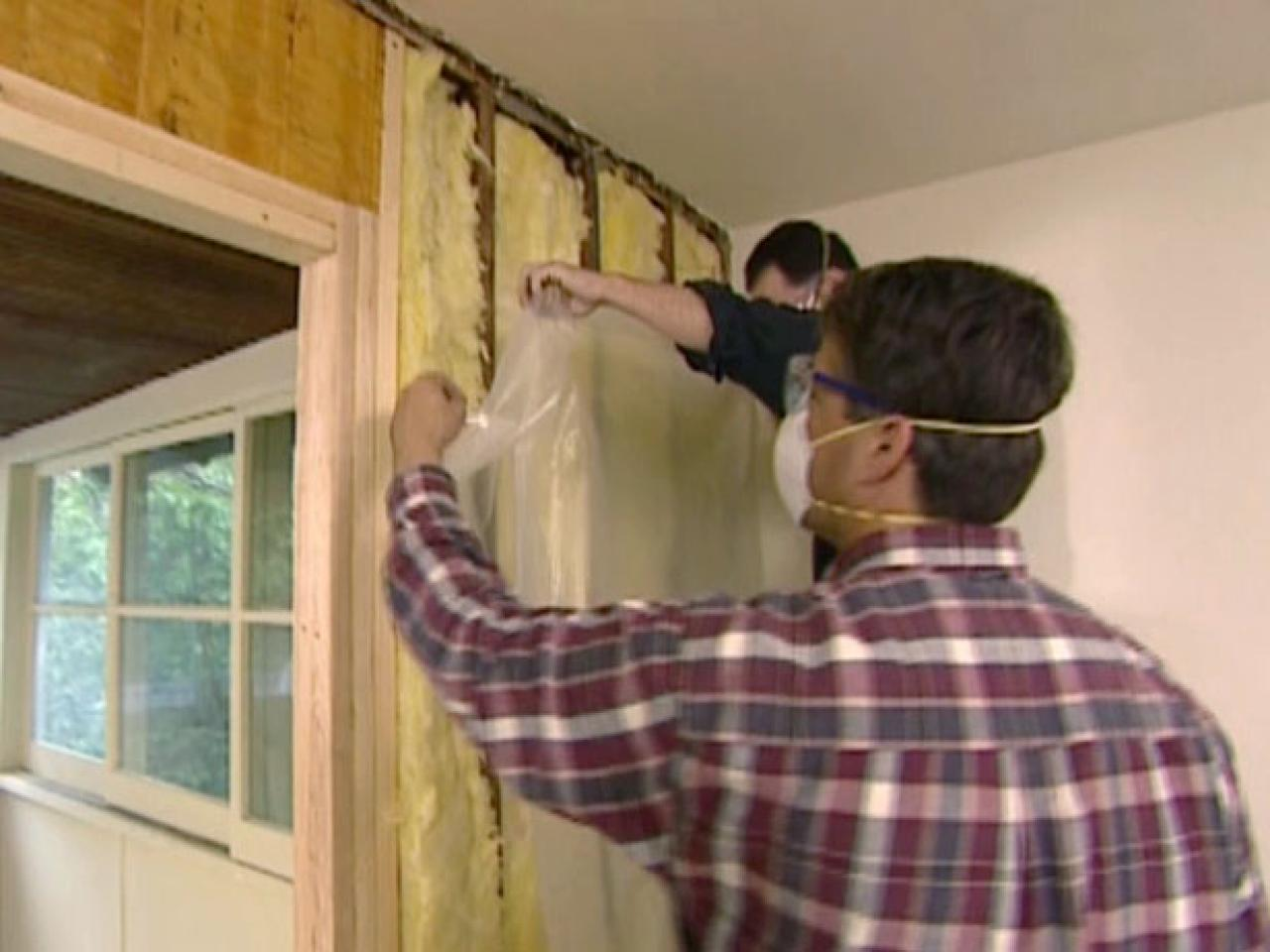 How to hang and finish french doors how tos diy insulation used in stud cavities rubansaba