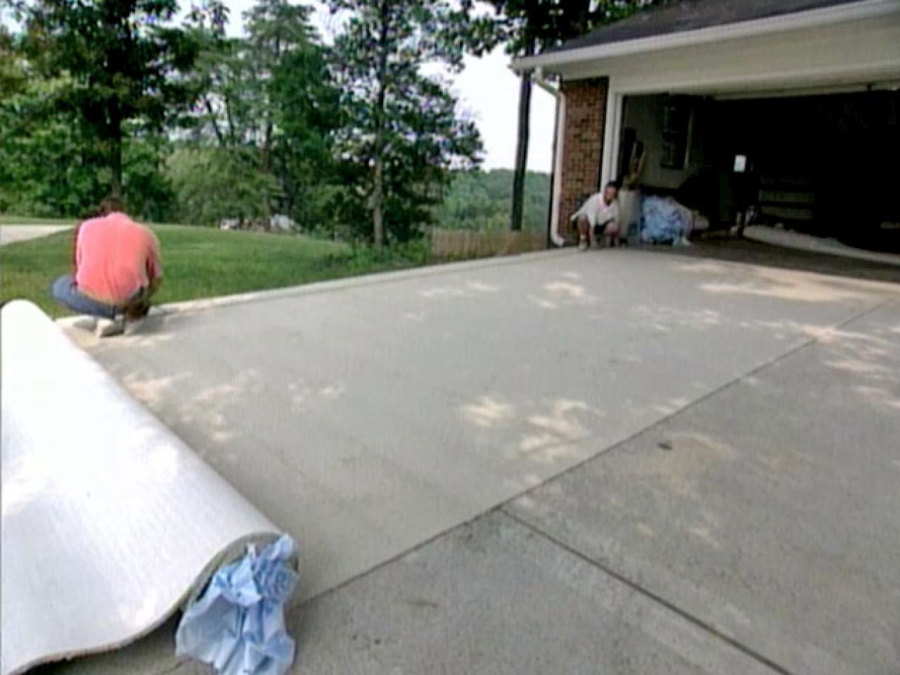 How To Install Indoor Outdoor Carpet On Concrete Stairs - Carpet ...