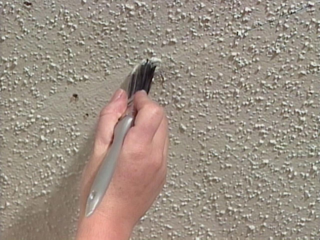 How To Repair A Textured Ceiling Tos Diy