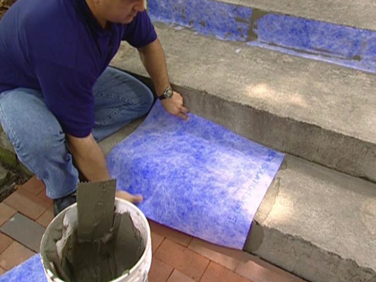 How To Give A Tile Facelift To An Ordinary Concrete Porch Howtos - Cost to lay outdoor tiles