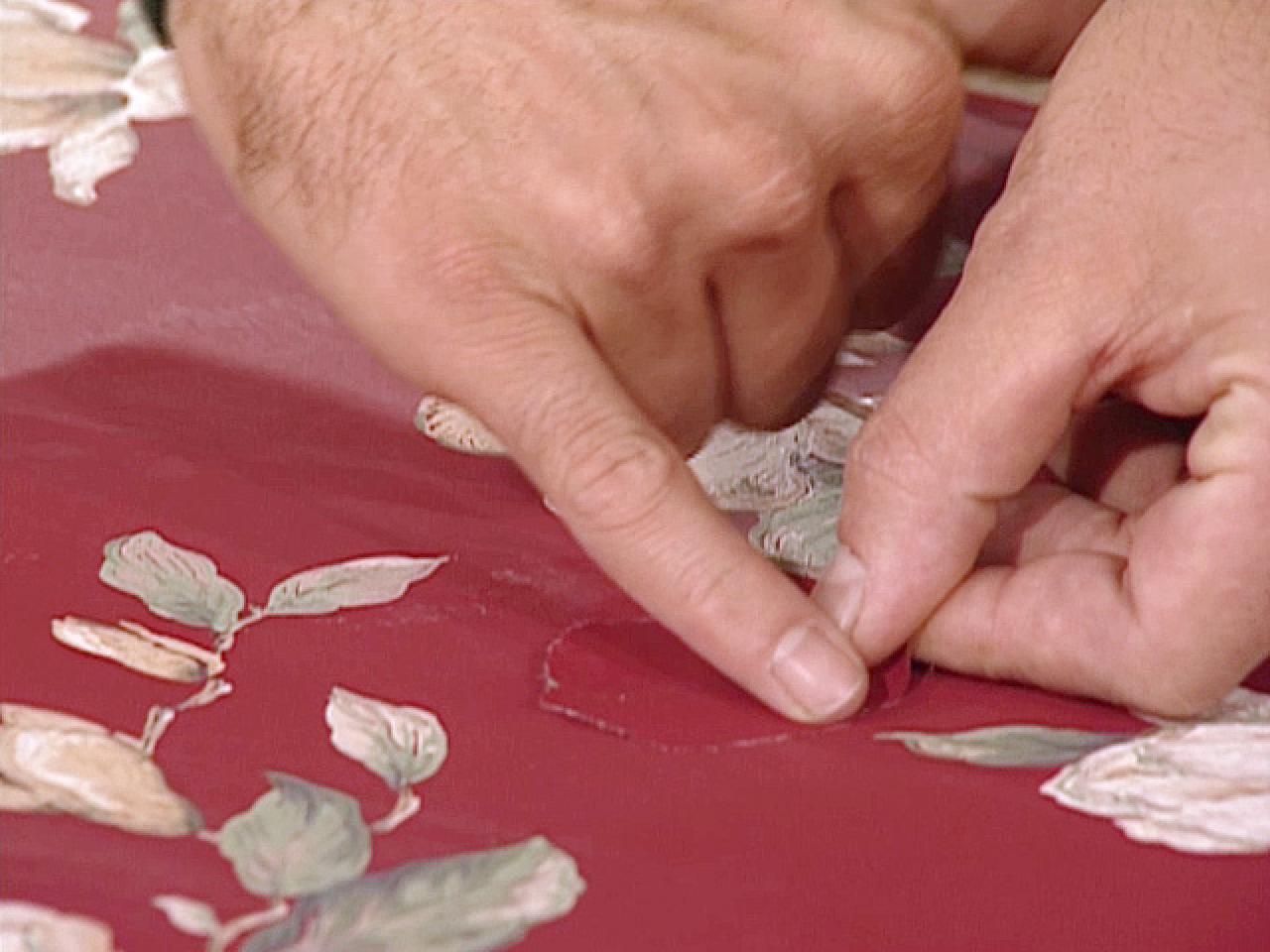 How To Repair Torn Wallpaper How Tos Diy
