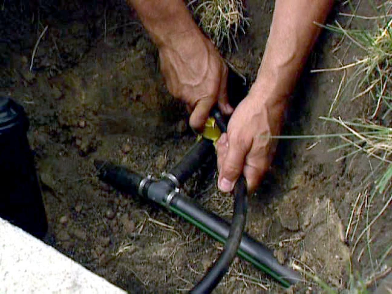 How to Install an In-Ground Sprinkler System | how-tos | DIY