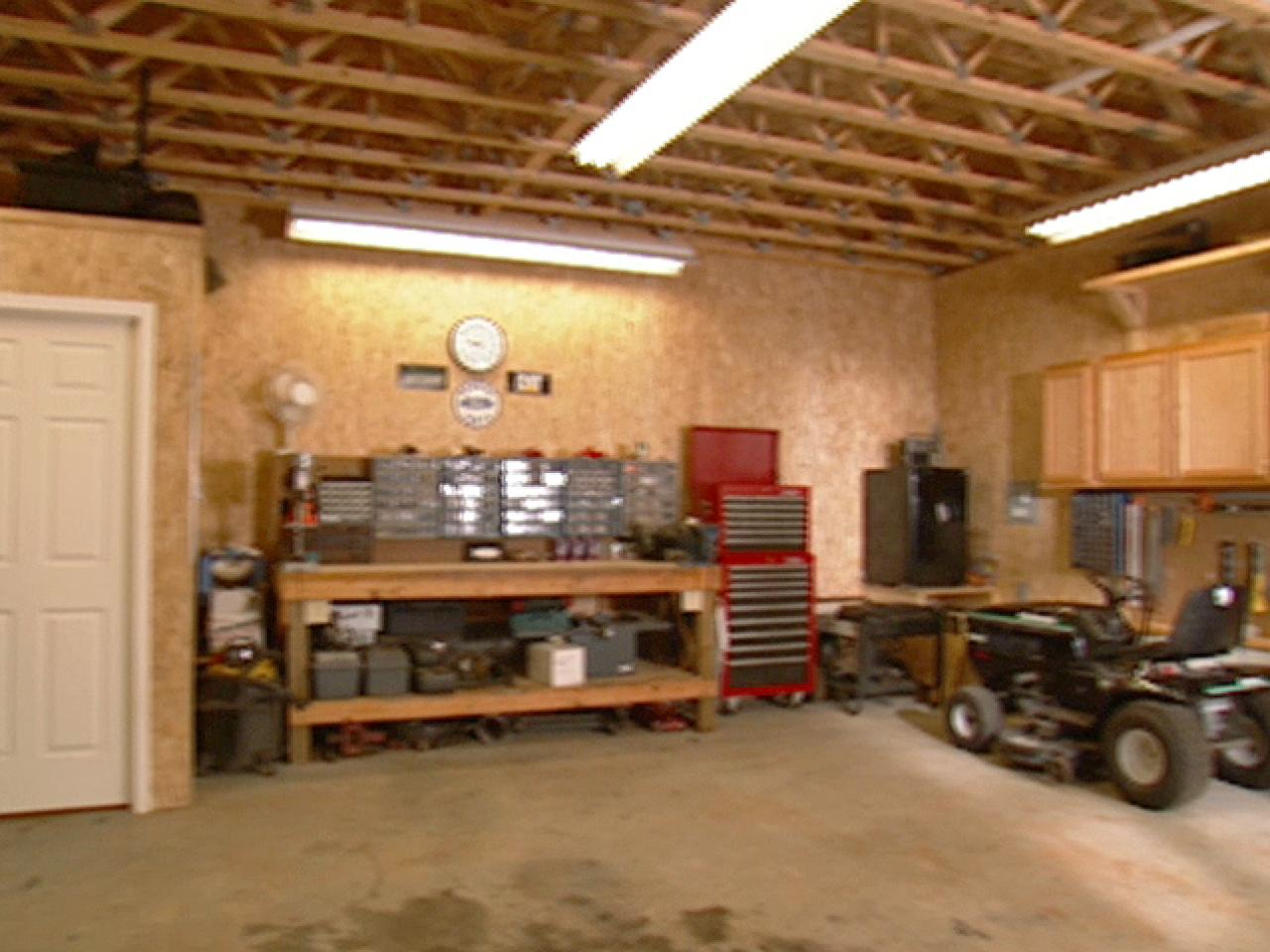 A Garage Is Most Common Workshop Location