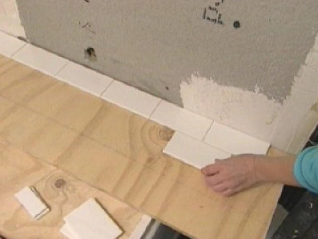 How To Tile Bathroom Walls And Shower Tub Area Tos Diy
