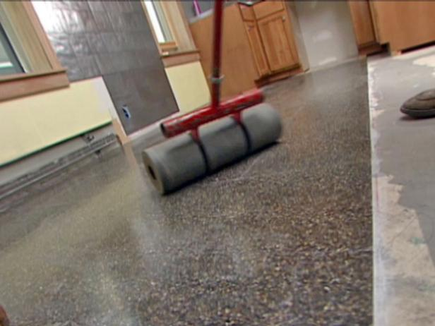 How To Lay Terrazzo Floor Tile How Tos Diy