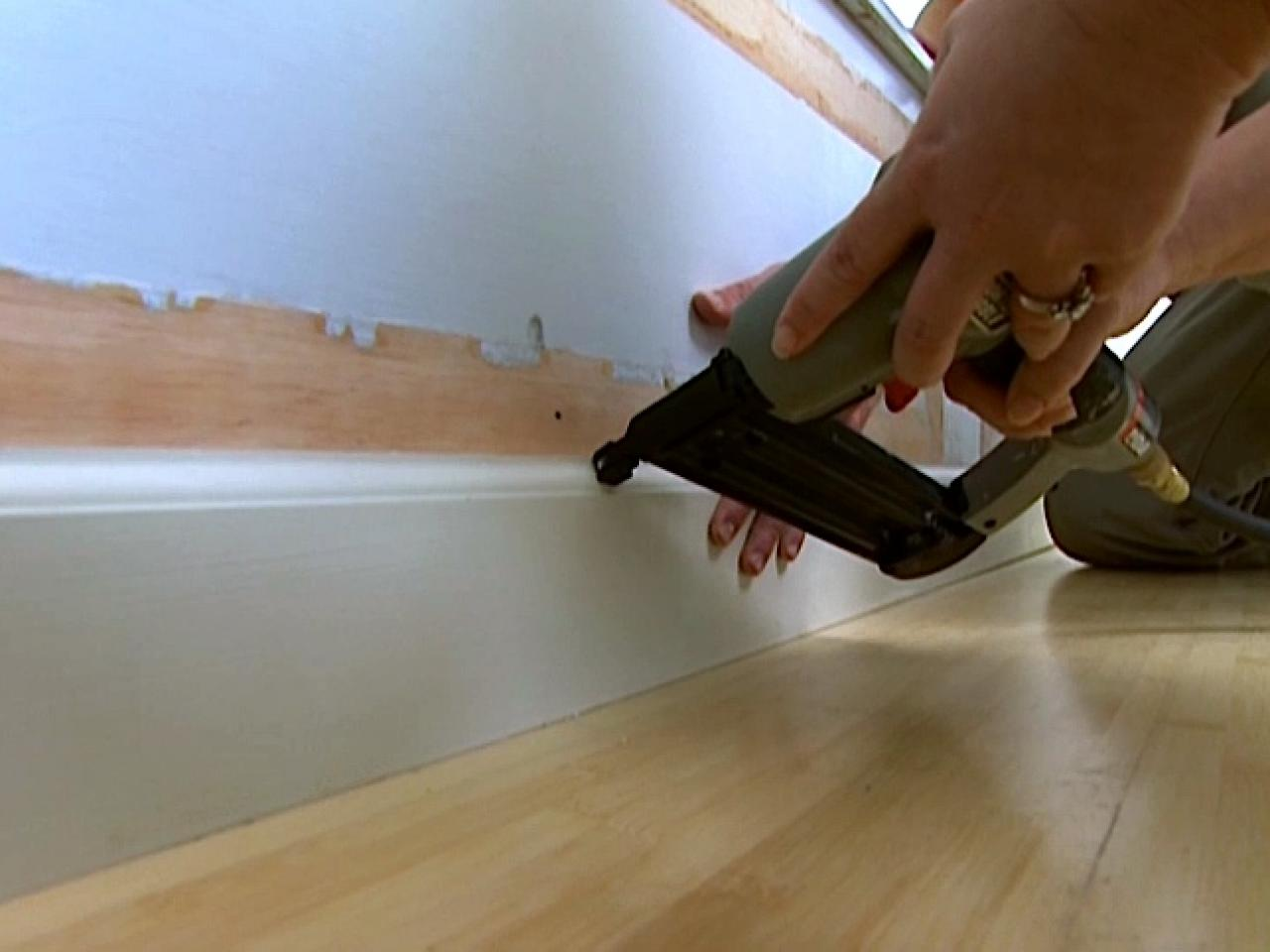 how to install baseboards | how-tos | diy