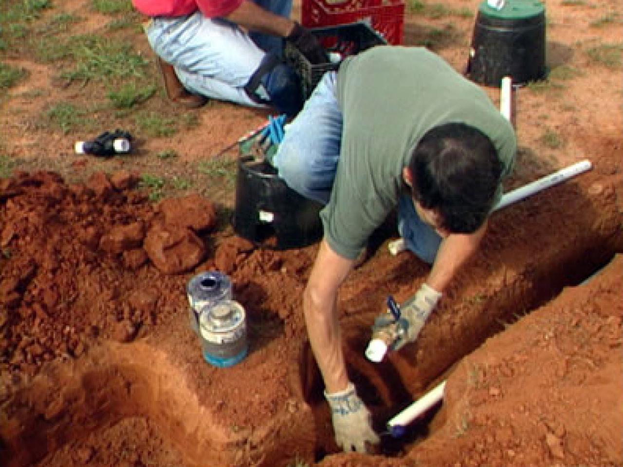 How To Install Soaker Hose Irrigation System How Tos Diy