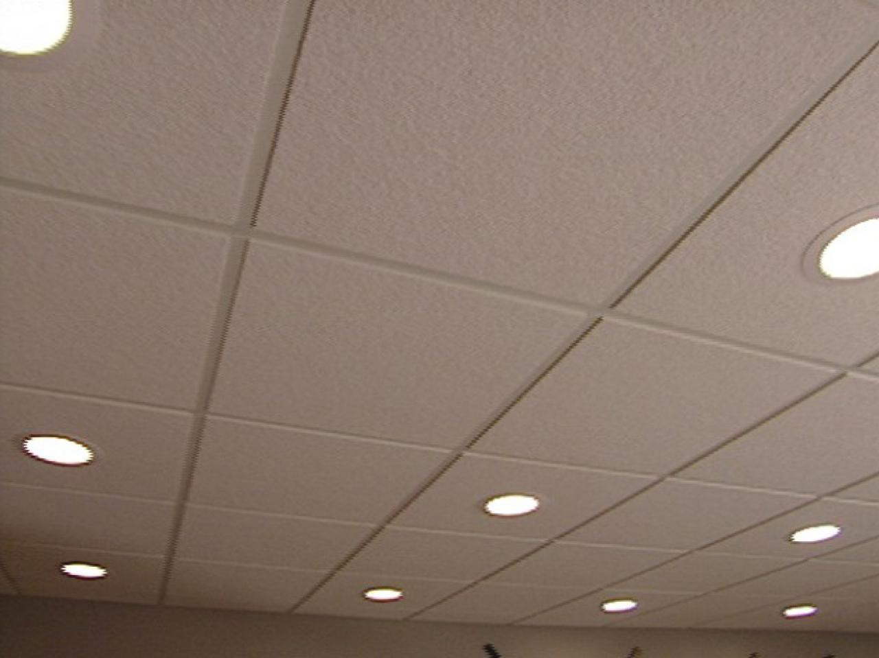 How to install an acoustic drop ceiling how tos diy how to install an acoustic drop ceiling dailygadgetfo Images