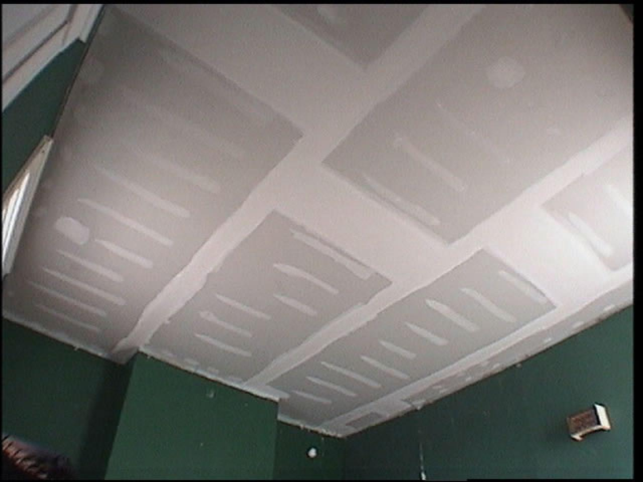 How To Replace Ceiling Tiles With Drywall Tos Diy