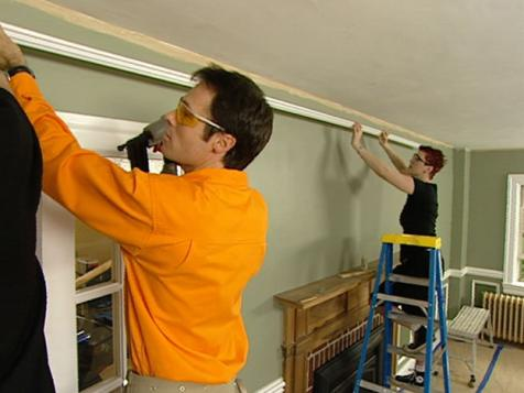 How to Install a Picture Rail