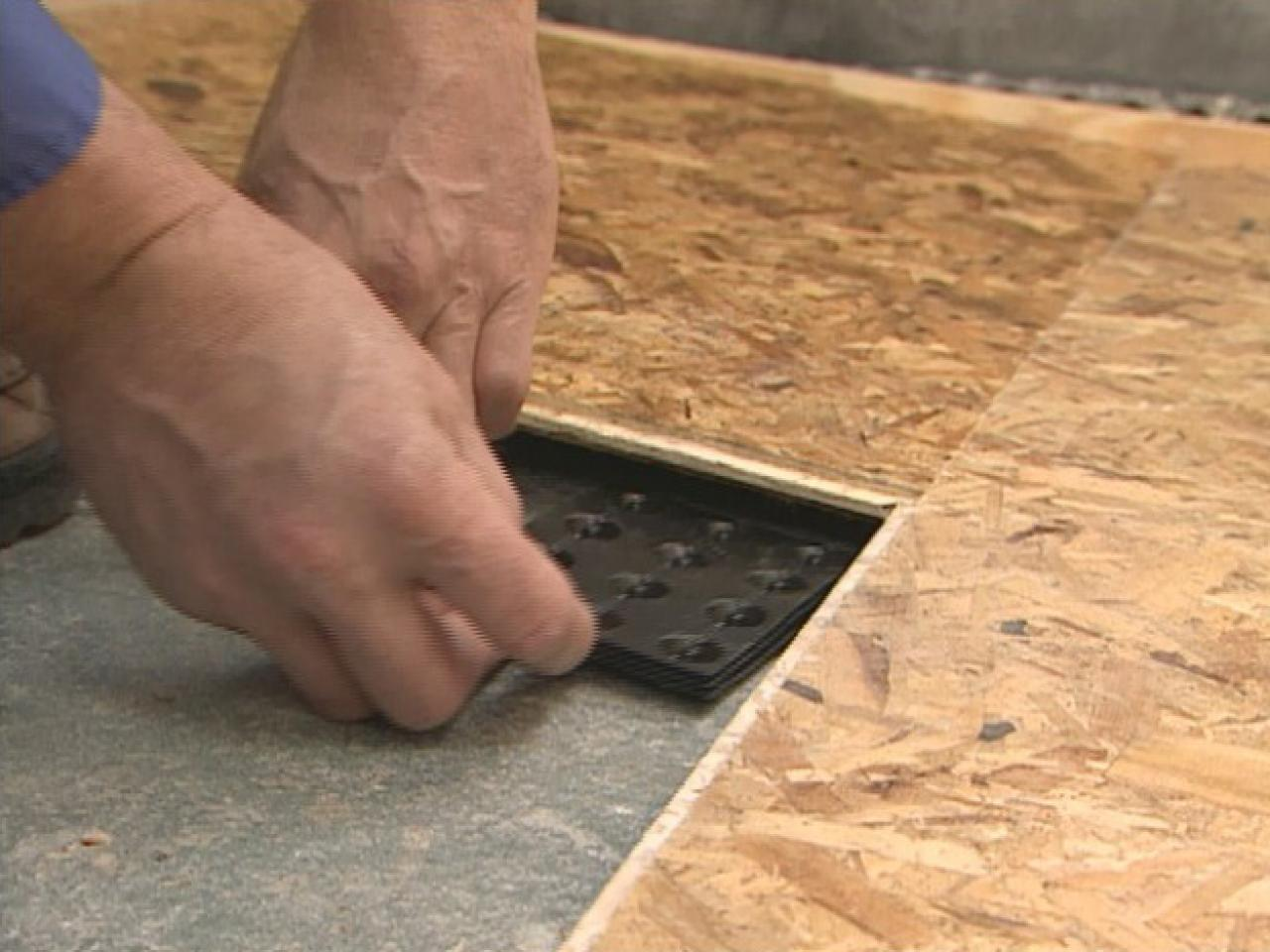 How To Install Subfloor Panels Tos Diy