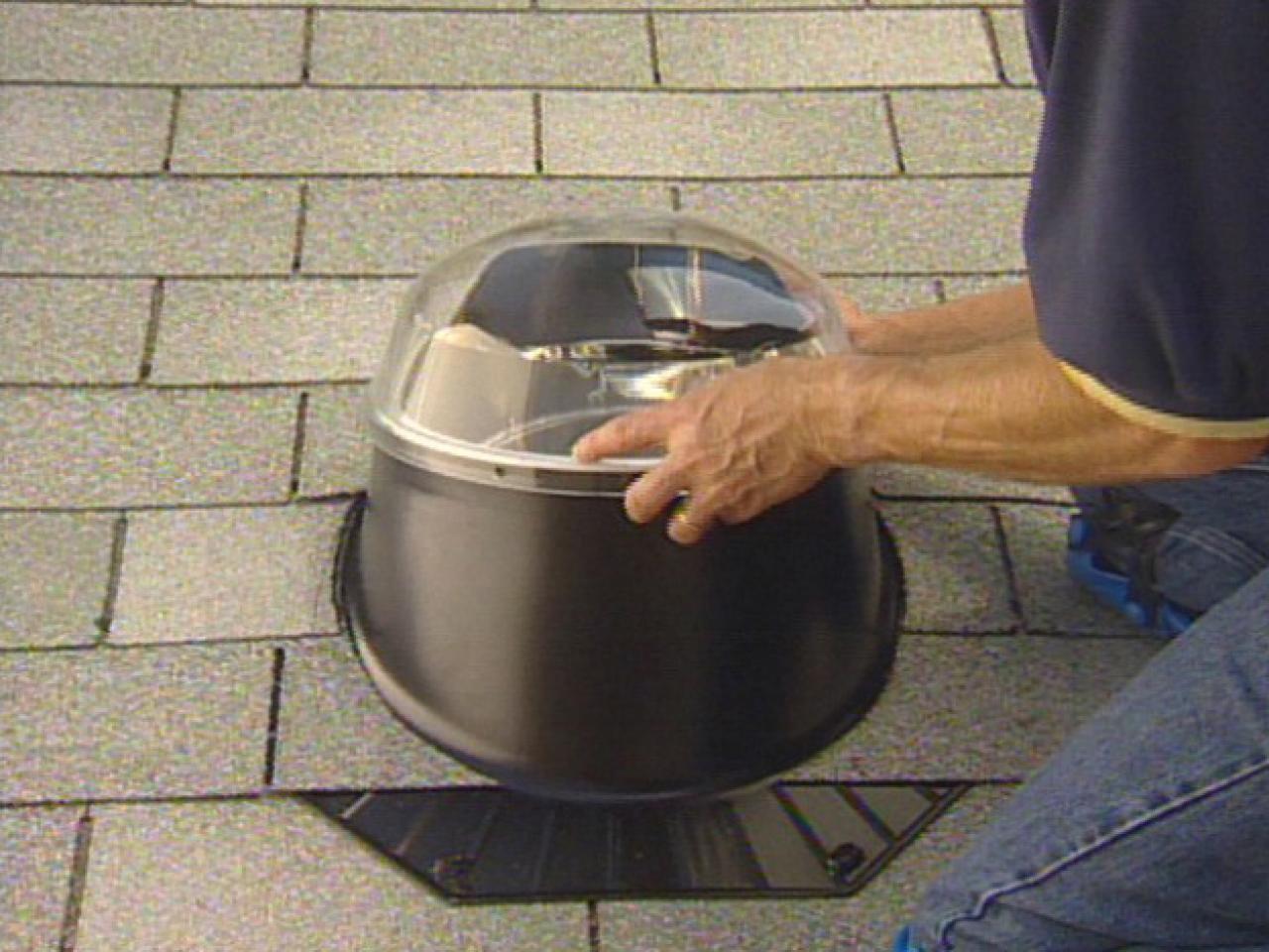 How To Install A Tube Skylight How Tos Diy