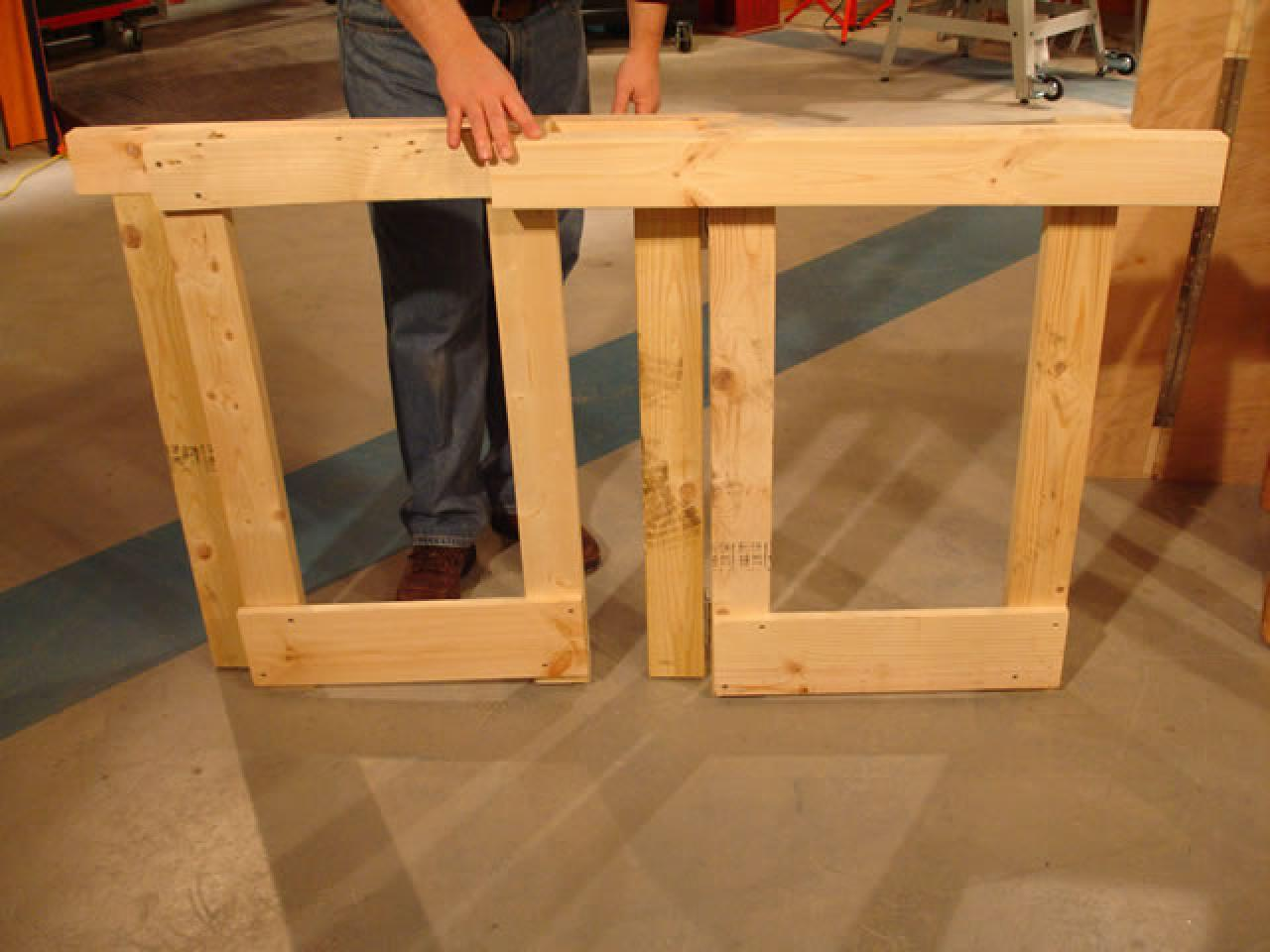 How to Make a Fold-Down Workbench | how-tos | DIY