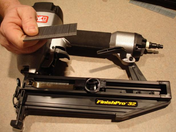 16 gauge brad nailer has adjustable depth of drive