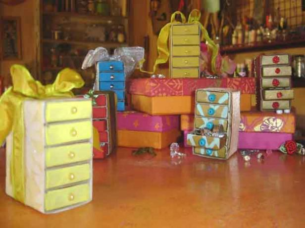 tiny treasure boxes are colorful keepsakes