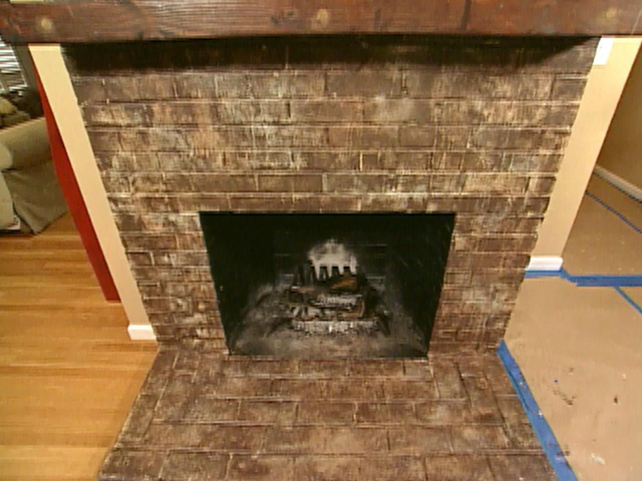 Create An Aged And Rustic Look For A Fireplace