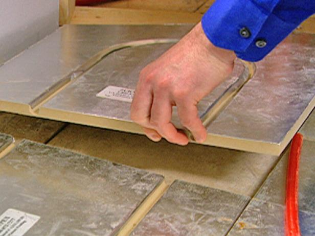 How To Install A Radiant Heat System Underneath Flooring