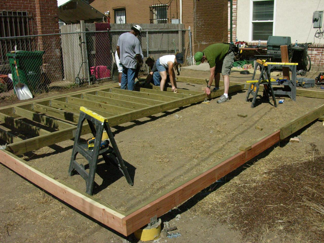 Finish Deck Frame