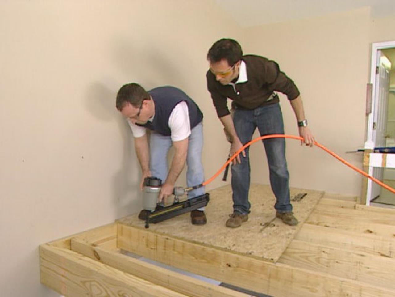 How to Create a Garage Loft | how-tos | DIY