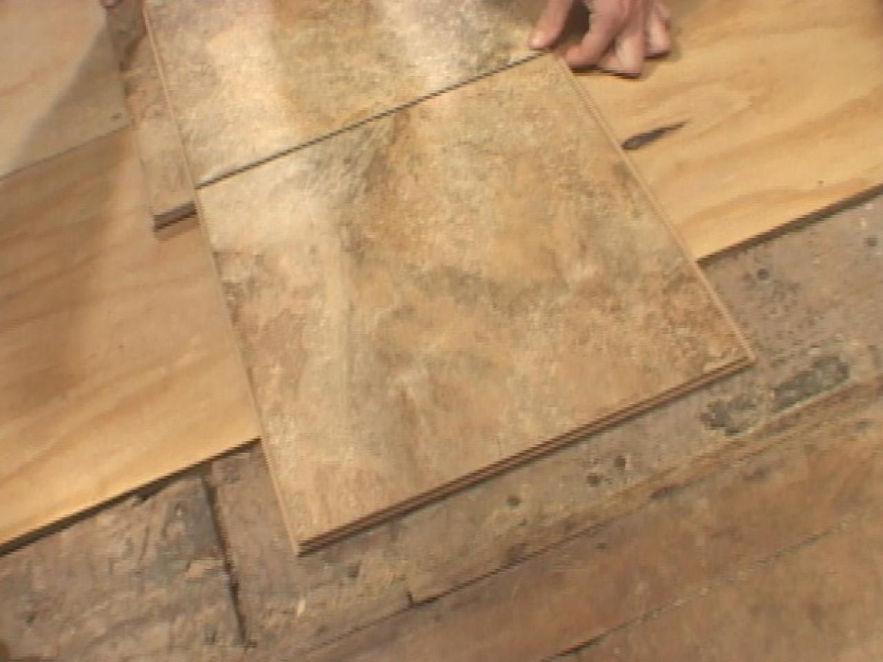 How to install snap together tile flooring how tos diy Tile wood floors