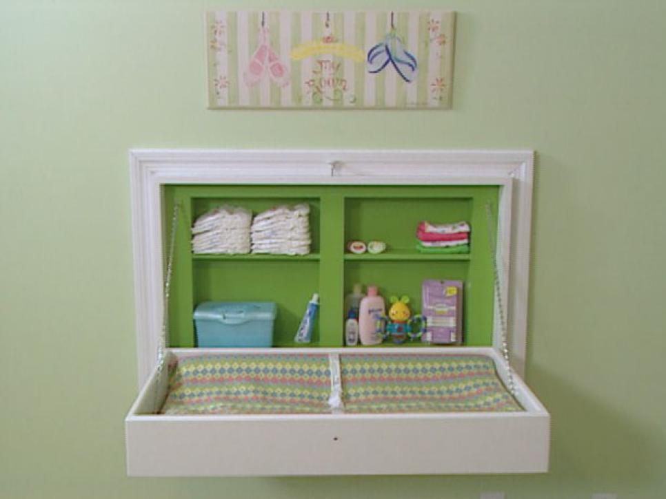 13 clever space saving solutions and storage ideas diy for Baby organizer ideas