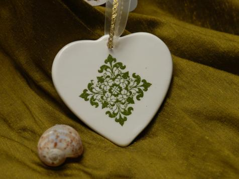 Bridal Favors: Porcelain Ornaments