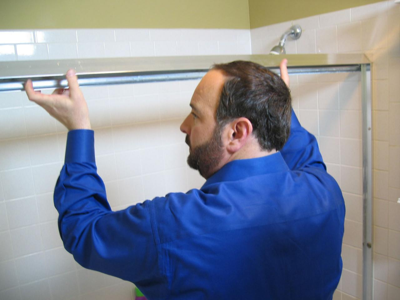 How to Replace a Shower Door | how-tos | DIY