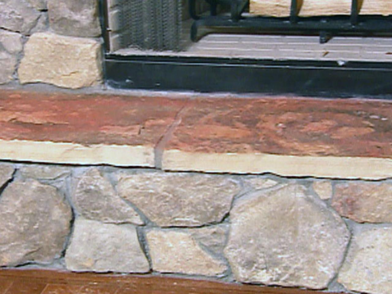 How To Create A Stone Fireplace