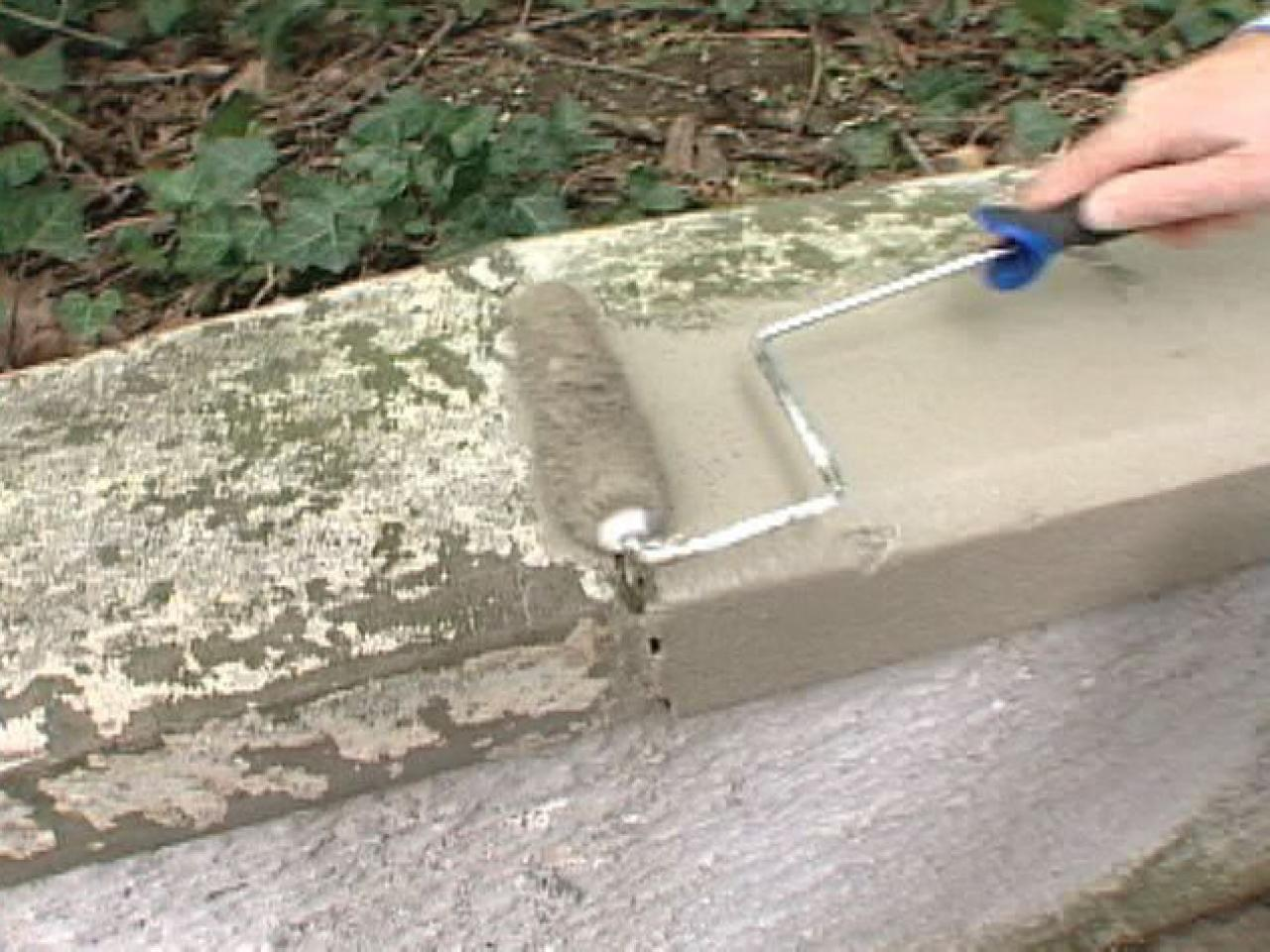 Painting To Fill Cracks In Masonry Walls