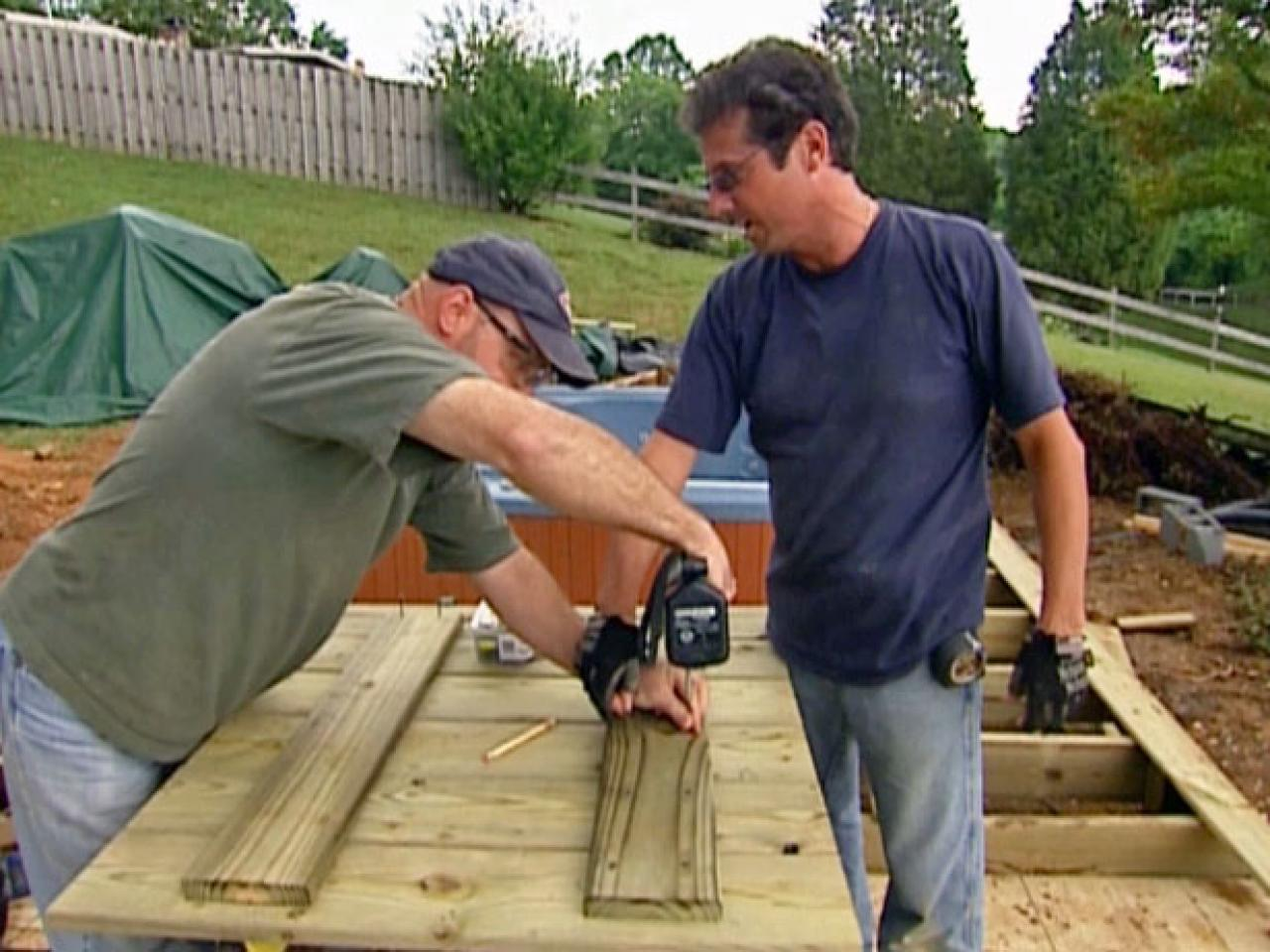 How To Install A Hot Tub On Deck Tos Diy Wiring Step 2