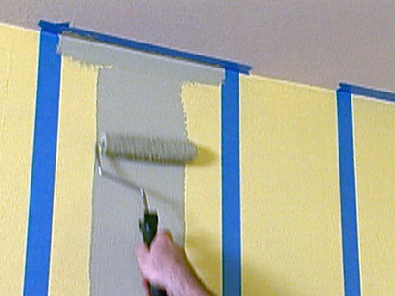 How to Paint Multiple-Striped Walls | how-tos | DIY