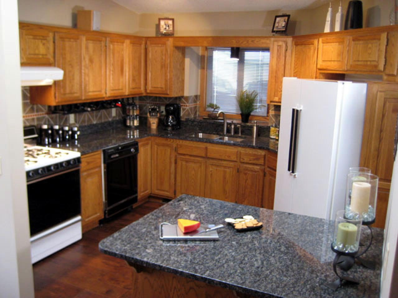 Kitchen Countertops Ideas : Granite kitchen countertop tips diy