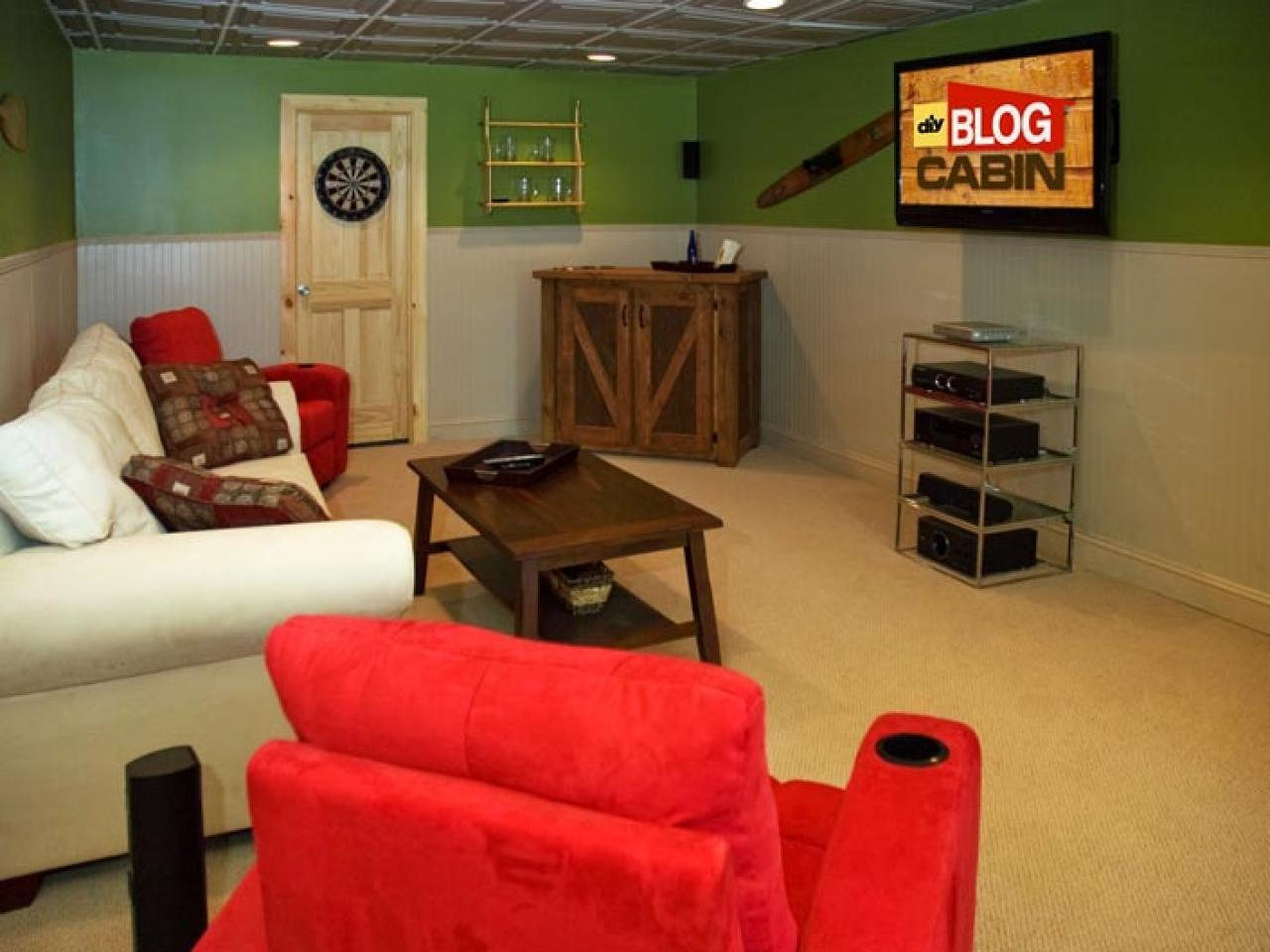 Which Family/Media Room is Your Favorite? | DIY Network Blog Cabin ...
