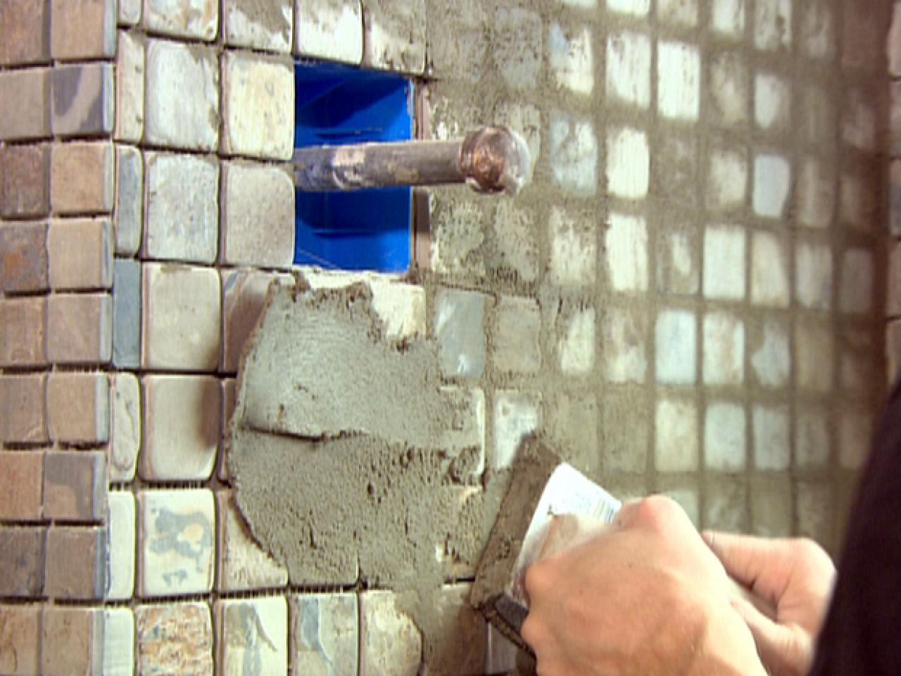 How to grout natural stone tile how tos diy step 2 dailygadgetfo Images