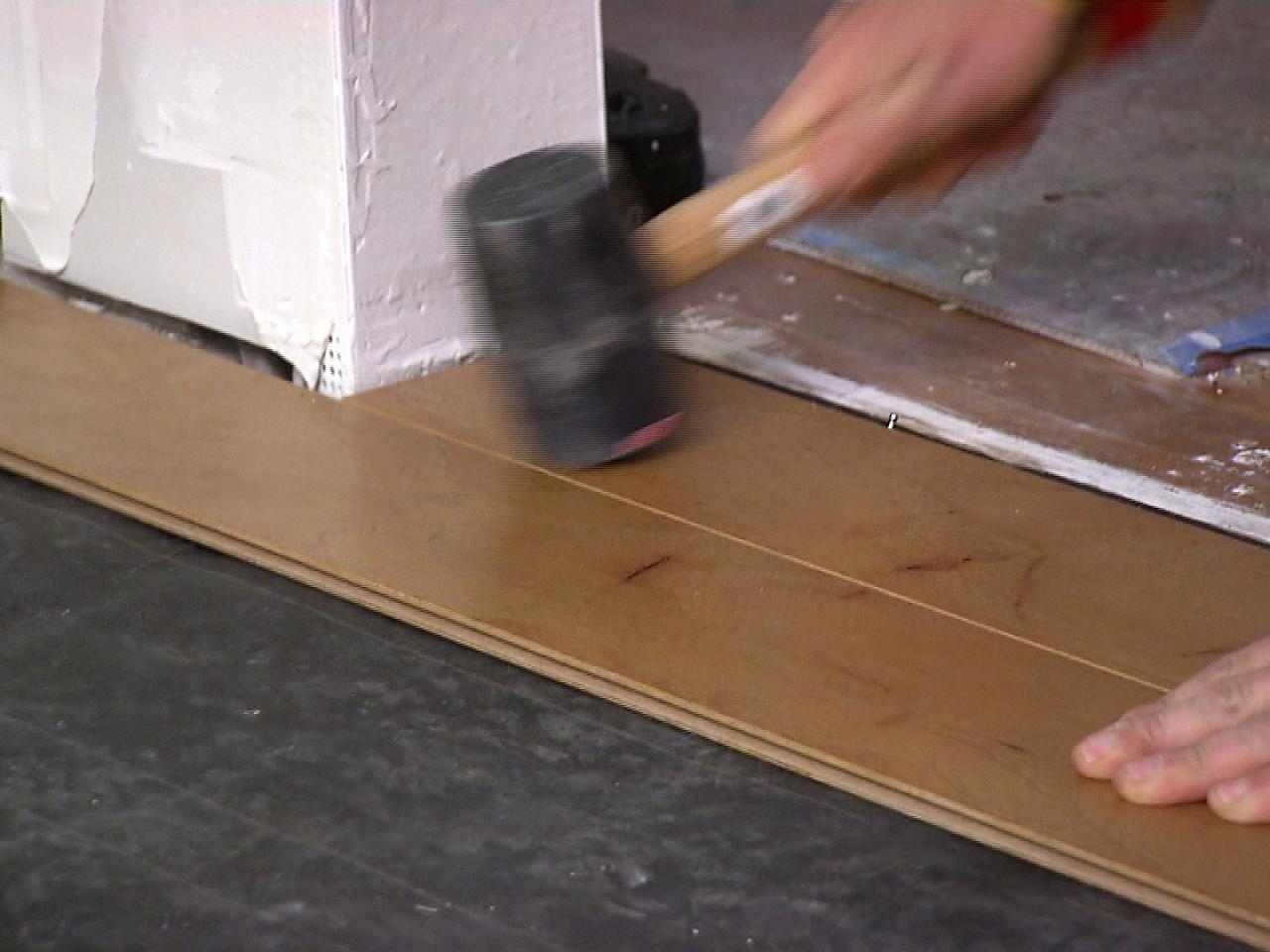 How To Install An Engineered Hardwood Floor How Tos Diy