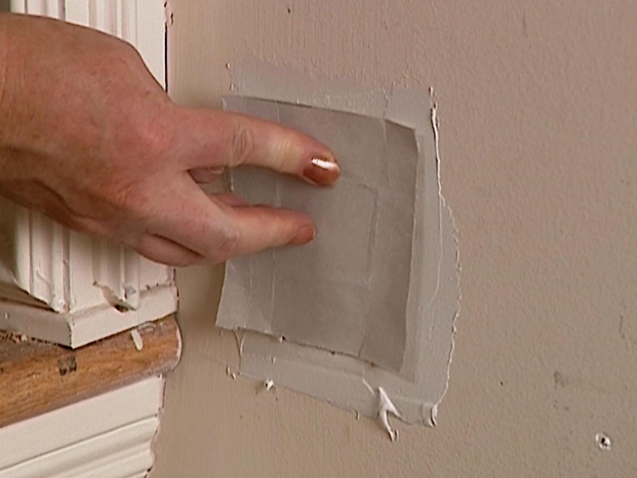 How To Patch A Hole With S Drywall Tos Diy