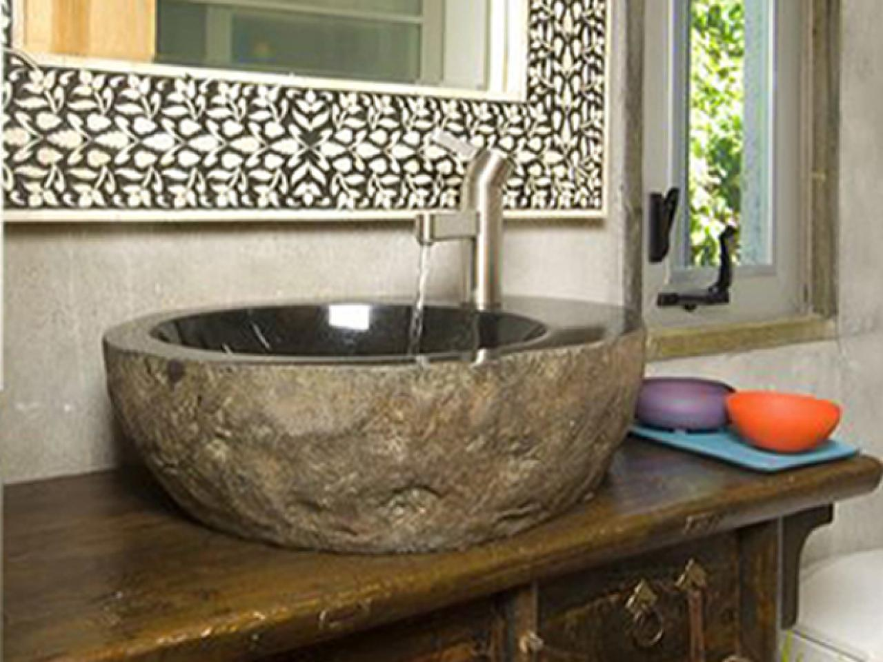 rocks in bathroom sink is a sink right for your kitchen diy 20223