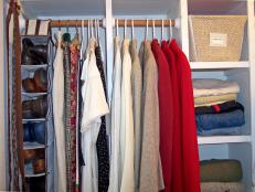 Check out these four organized closets by professional organizers and interior designers, and discover the best closet organizers and eco-friendly tips for your closet space.