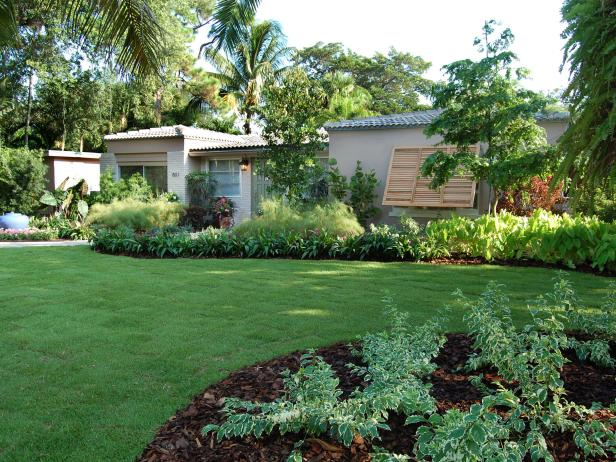 Big And Bold Front Yard Landscaping Design After Makeover