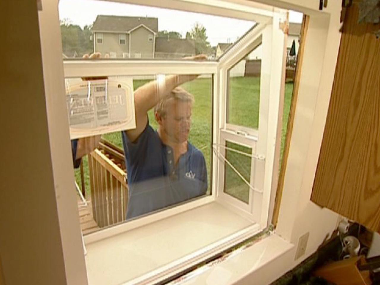 How to fit and install a garden window how tos diy for Garden window