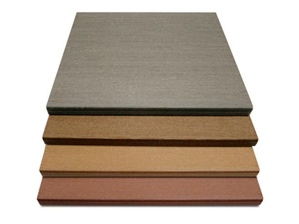 Four Samples of WeatherBest Composite Decking